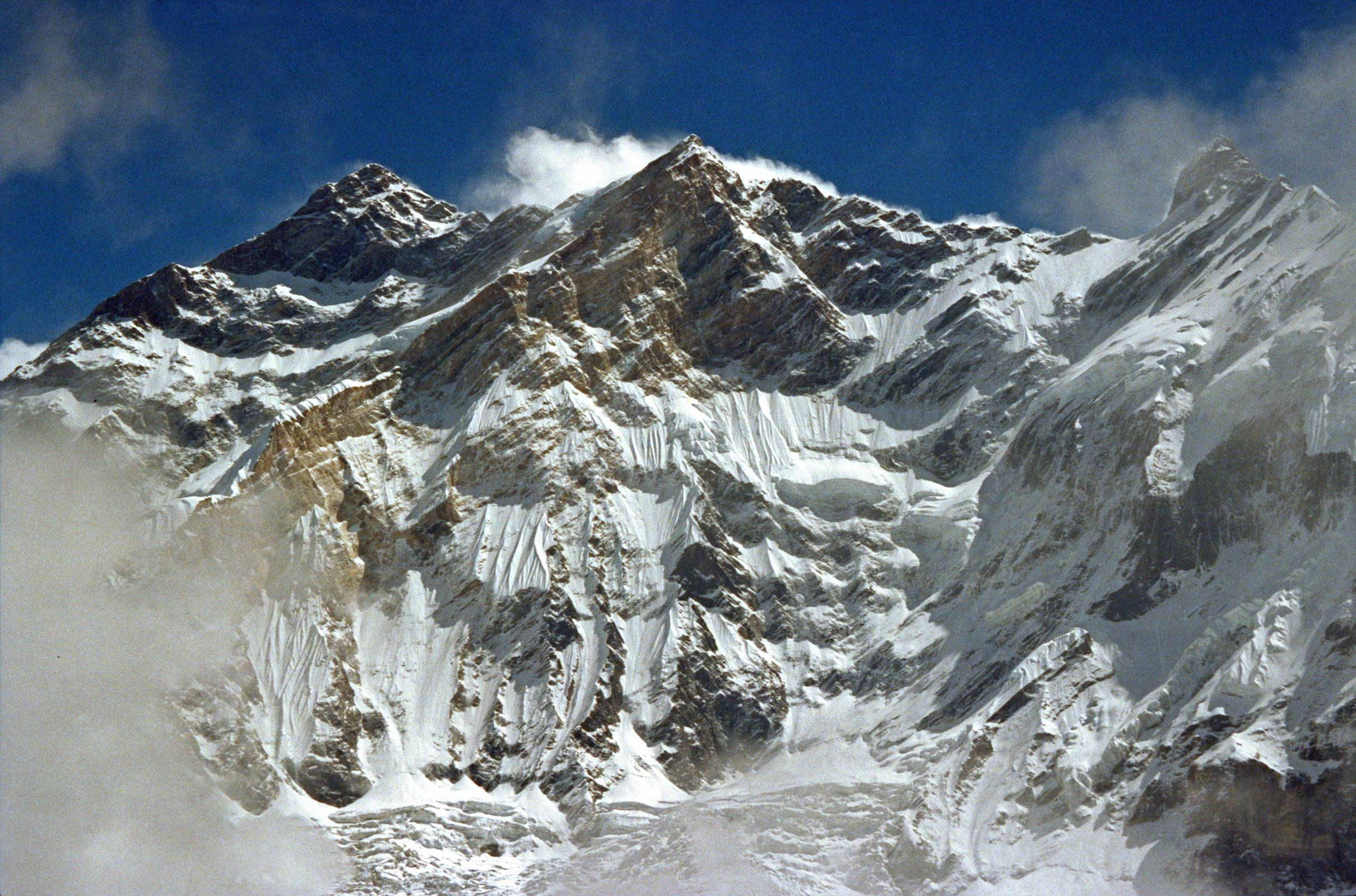 107 Annapurna To Fang From Ridge Above Miristi Khola