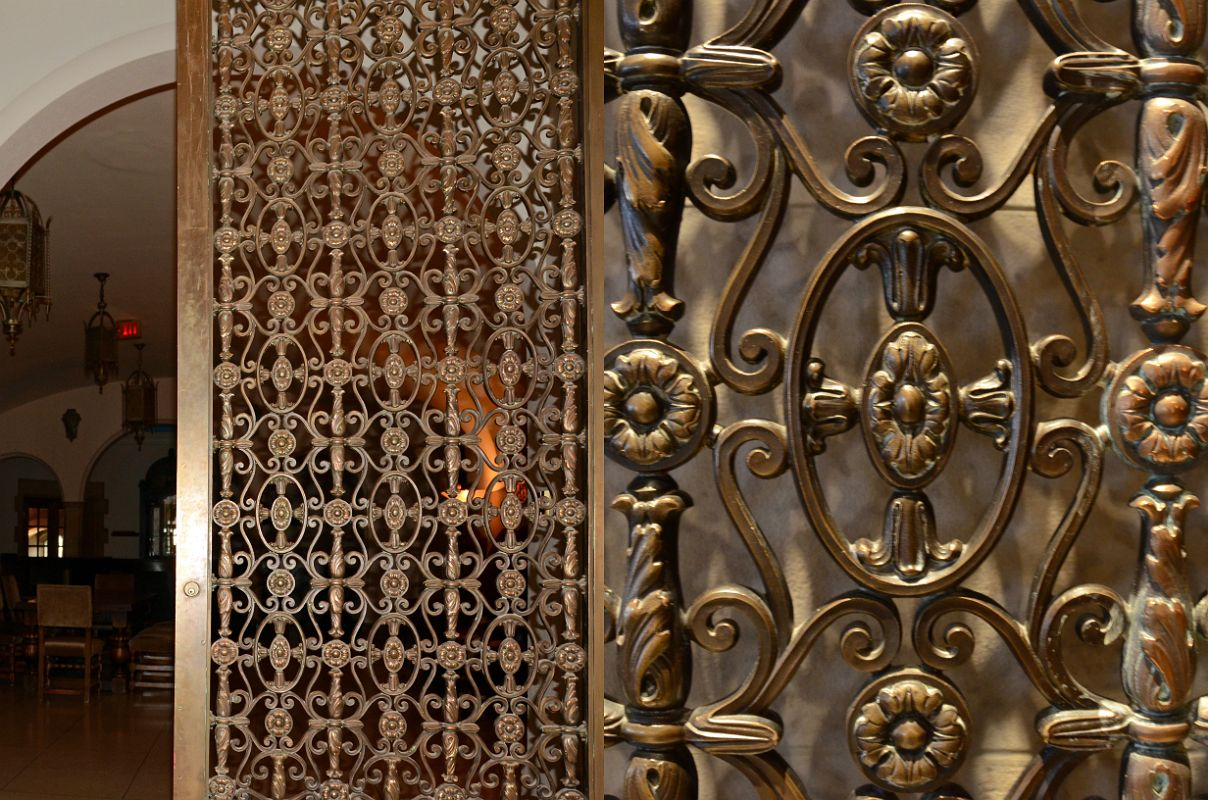 40 Banff Springs Hotel Mezzanine Level 2 Cast Bronze Doors To Alhambra Room & 40 Banff Springs Hotel Mezzanine Level 2 Cast Bronze Doors To ... Pezcame.Com