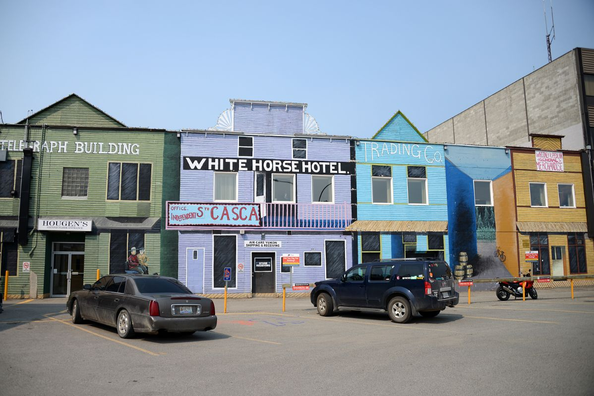15 Colourful Buildings Telegraph Building Whitehorse Hotel Trading Co Whitney And Pedlar General Merchandise In Whitehorse Yukon