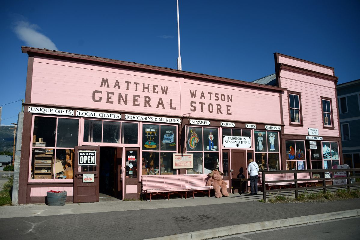 08f Matthew Watson General Store Historic Building In Carcross On The Tour From Whitehorse Yukon To Skagway
