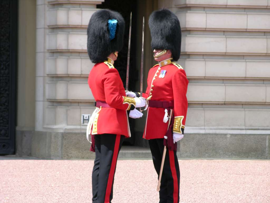 Changing Of The Guard London Times
