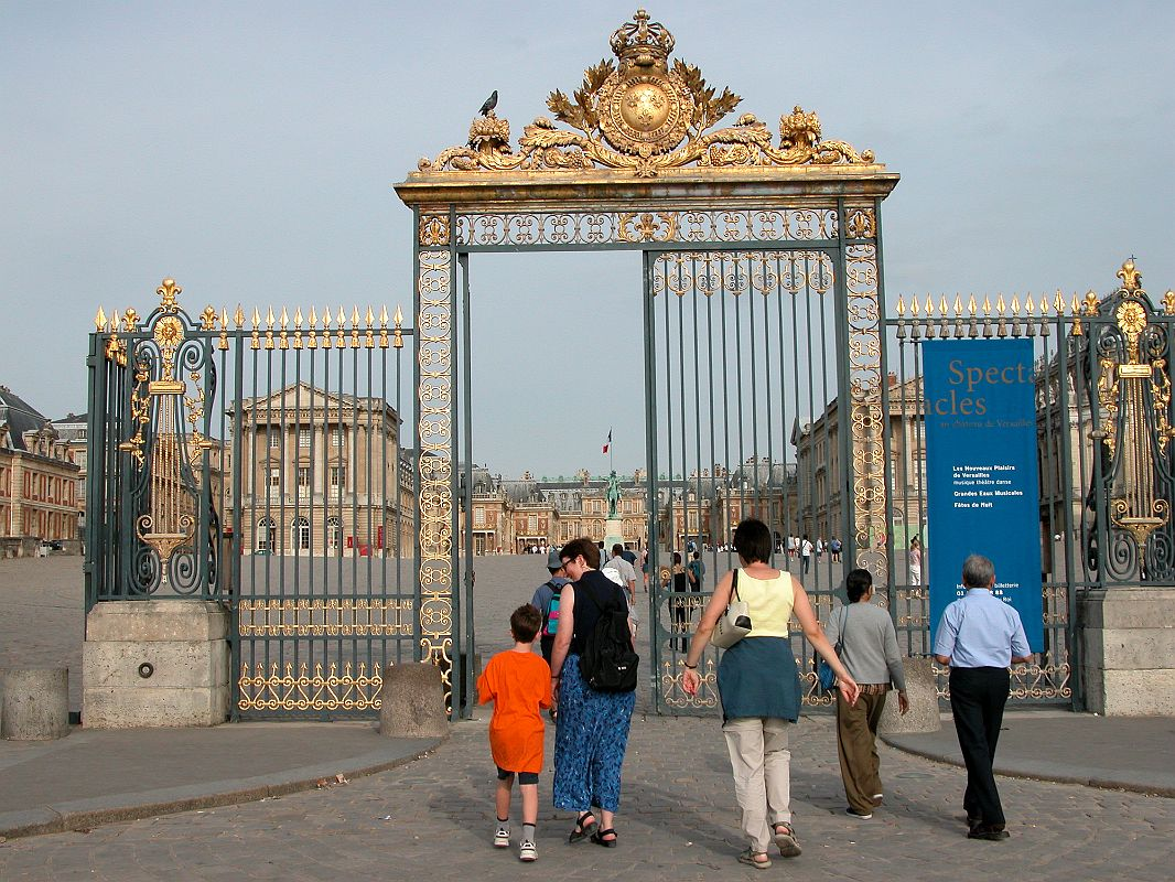 Versailles Paris Images Paris Versailles 02 Entrance