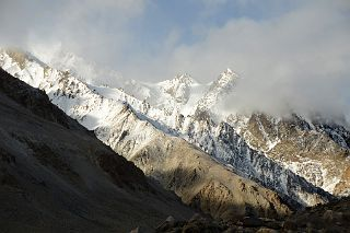 K2 Mountain Base Camp ... Ridge 4200m Above Base Camp On the Trek To K2 Intermediate Base Camp