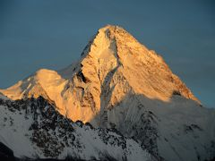 K2 North Face At Sunset From K2 North Face Intermediate Base Camp