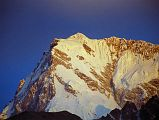 Nanga Parbat Rupal and East faces at sunrise from Tarashing