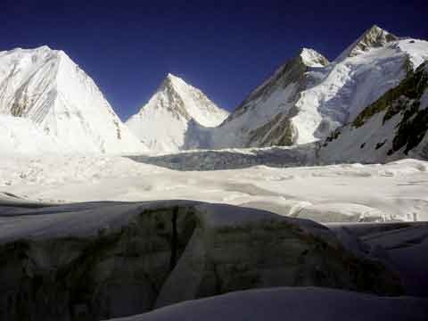 Gasherbrum V, Gasherbrum IV East Face, Gasherbrum III, Gasherbrum II South Face - 8000 Metri Di Vita, 8000 Metres To Live For book