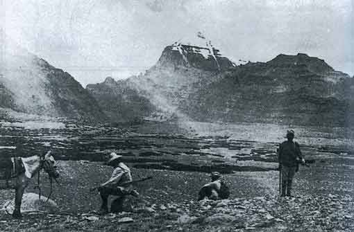 Tom Longstaff and Kailash South Face in 1905 - A Mountain in Tibet book