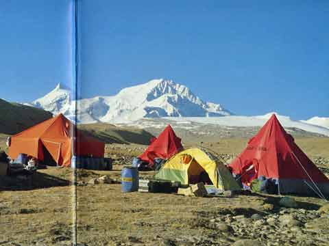 Shishapangma From North Base Camp - All Fourteen 8000ers (Reinhold Messner) book