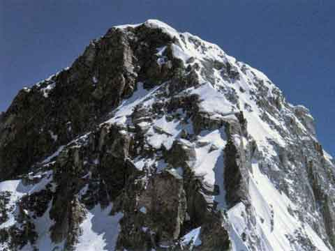 The last section of the west summit ridge - Annapurna: 50 Years of Expeditions in the Death Zone (Reinhold Messner) book