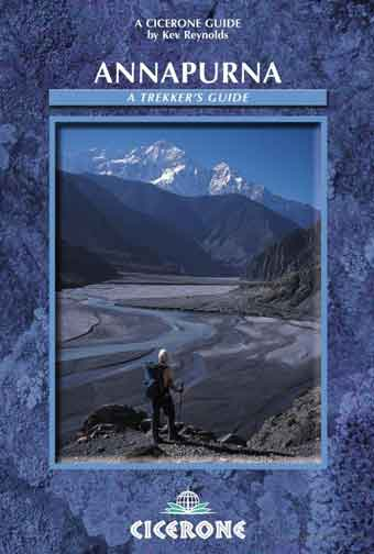 Kali Gandaki Valley and Nilgiri - Annapurna: A Trekker's Guide (Kev Reynolds) book cover
