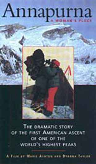 Annapurna North Face, Annie Whitehouse Hugs Christy Tews - Annapurna: A Woman's Place Video cover