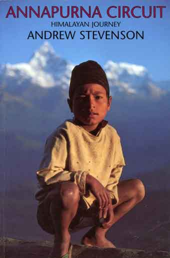 Young Boy With Machapuchare Behind - Annapurna Circuit: Himalayan Journey book cover