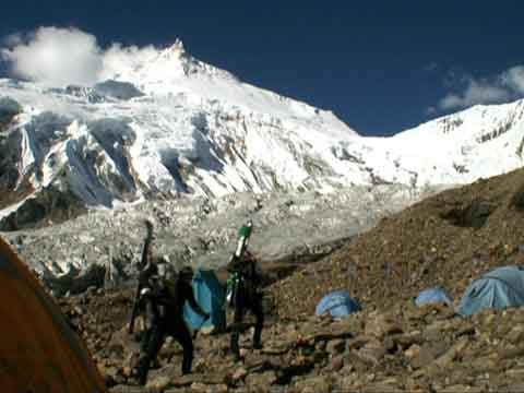 Leaving Base Camp In Perfect Weather With Manaslu - Best Of EOFT 5 DVD - Expedition Manaslu