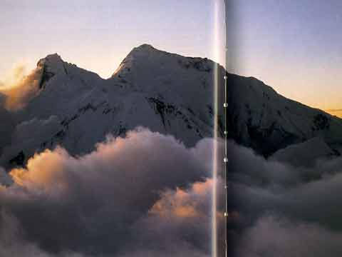 Lhotse East Face and Everest East Kangshung Face From Makalu - Climbing The Worlds 14 Highest Mountains book