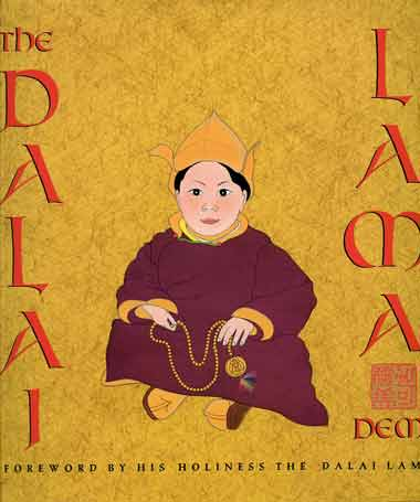 Young Dalai Lama - Dalai Lama (Demi) book cover
