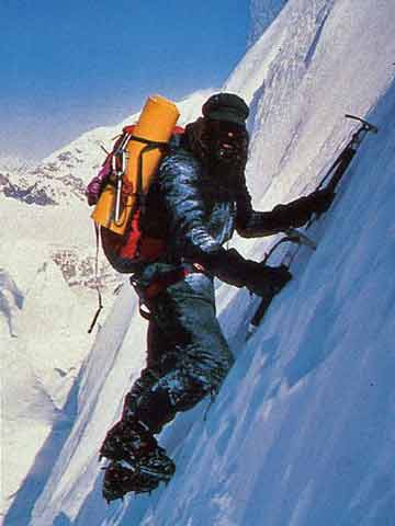Doug Scott Climbing Shishapangma Southwest Face in 1982 - Doug Scott Himalayan Climber book