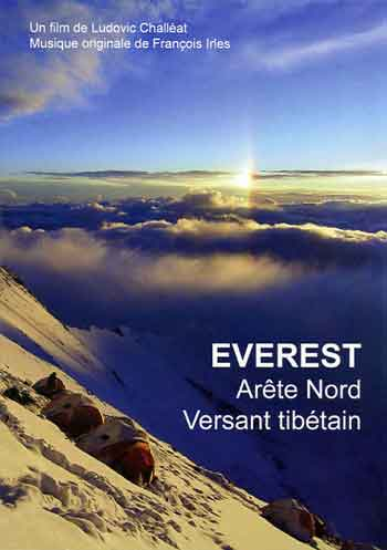 Everest Camp 3 8350m 2007 At Sunset - Everest: Arete Nord Versant tibetain DVD cover