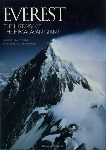 Everest Southeast Ridge and South Col from Lhotse - Everest The History of the Himalayan Giant 1997 book cover