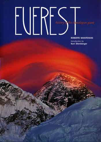Everest Southwest Face At Sunset - Everest: The History of the Himalayan Giant 2007 book cover