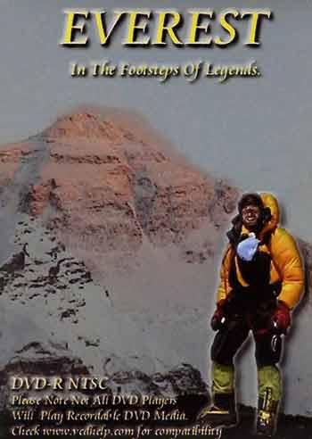 Everest North Face and Stuart Peacock - Everest: In the Footsteps of Legends DVD cover