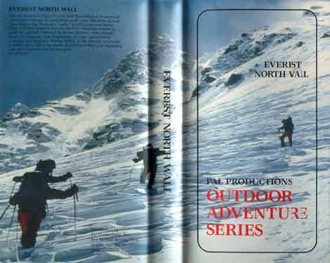 Everest North Wall DVD cover