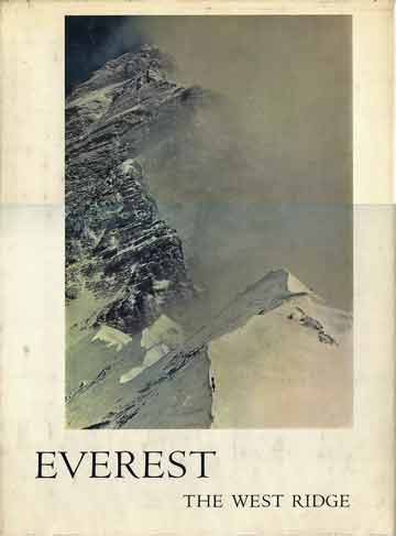 Unsoeld and Hornbein Approaching the Everest West Ridge - Everest: The West Ridge book cover