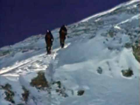 Reinhold Messner and Peter Habeler Leaving For The Everest Summit - Everest Unmasked Video