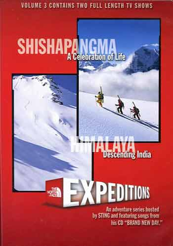 Shishapangma (and Himalaya): North Face Expeditions Volume 3 DVD cover