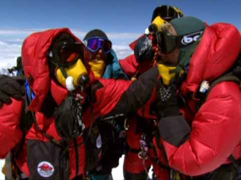 Erik Weihenmayer And His Guides On Everest Summit May 21, 2001 - Farther Than The Eye Can See DVD