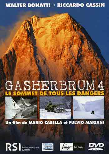 Gasherbrum IV AT Sunset - Gasherbrum 4 2002 DVD cover