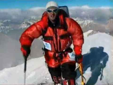 Gasherbrum II First Ascent North Face - Daniele Bernasconi Reaching Gasherbrum II Summit July 20, 2007 - karlunterkircher Youtube Video