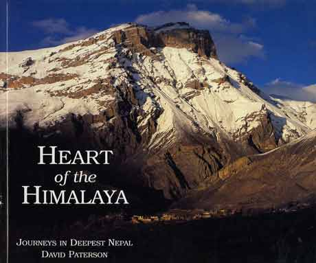 Muktinath Himal - Heart Of The Himalaya Everest book cover