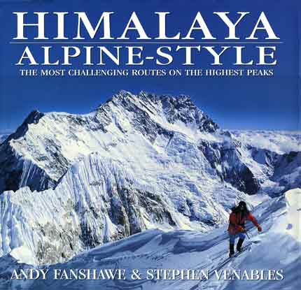 Kangchenjunga Southwest Face from Jannu - Himalaya Alpine Style: The Most Challenging Routes on the Highest Peaks book cover