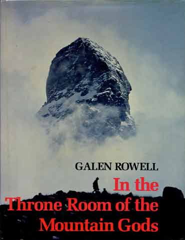 Rock Tower Near Dasso - In The Throne Room Of The Mountain Gods 1977 book cover