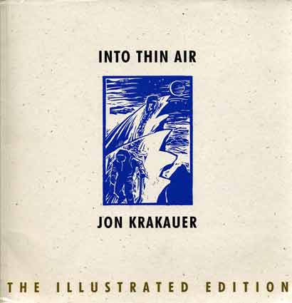 Into Thin Air Illustrated Edition (Jon Krakauer) book cover