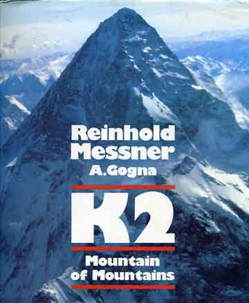 Aerial view of the K2 West Face taken by Dianne Roberts from the 1975 American Expedition - K2: Mountain Of Mountains book cover
