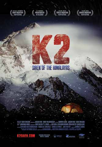K2 Siren Of The Himalayas DVD cover