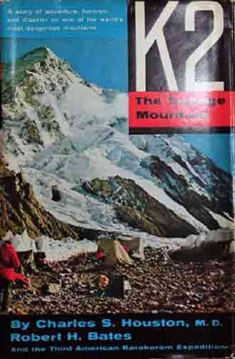 K2 From Base Camp On 1953 American K2 Expedition - K2: The Savage Mountain book cover