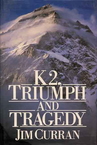 High Winds Driving Across K2 Summit - K2 Triumph and Tragedy book cover