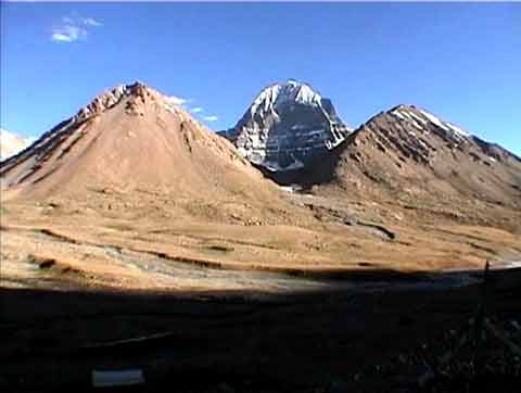 Kailash North Face wide view - Kailash: A Pilgrimage DVD
