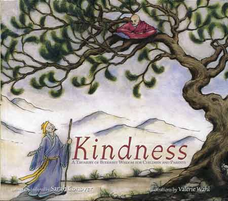 Birdsnest illustration - Kindness: A Treasury of Buddhist Wisdom for Children and Parents book cover