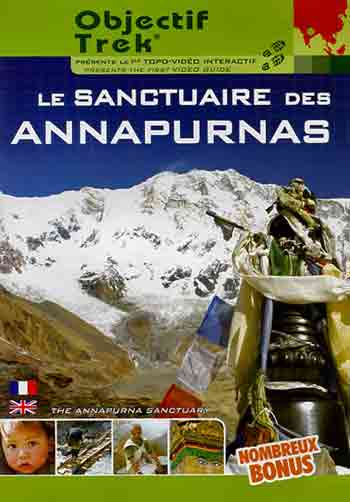 Annapurna South Face from Annapurna Sanctuary Base Camp - Le Sanctuaire des Annapurnas (The Annapurna Sanctuary) DVD cover