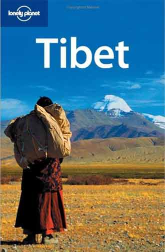 Pilgrim and Mount Kailash - Tibet (Lonely Planet) book cover