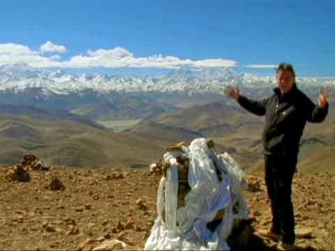 Michael Palin on Pang La - Michael Palin Himalaya DVD