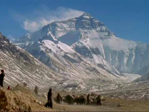 Everest North Face from Base Camp - Michael Palin Himalaya DVD