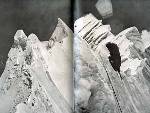 Crest Of Dhaulagiri Southeast Ridge - Mountain of Storms: The American Expeditions to Dhaulagiri book