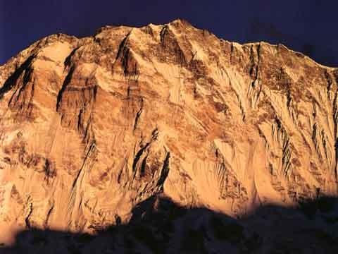 Annapurna South Face - Nepal: The Mountains Of Heaven book
