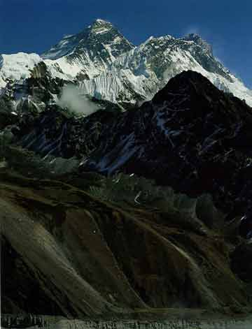 Everest, Nuptse and Lhotse From Gokyo Ri - Nepal: The Mountains Of Heaven book