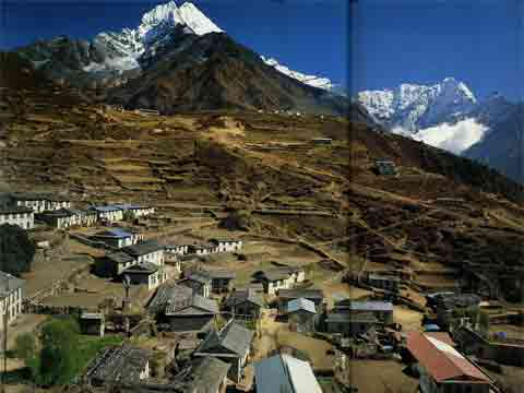 Namche Bazaar In 1981 - Nepal: The Mountains Of Heaven book