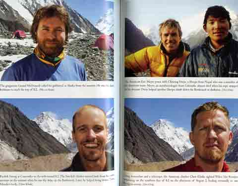 Gerard McDonnell, Eric Meyer And Chhiring Dorje, Fredrik Strang, and Chris Klinke With K2 - No Way Down: Life And Death On K2 book